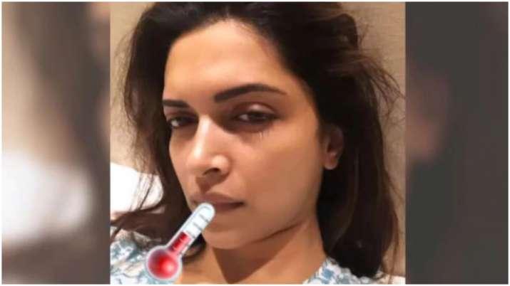 Deepika Padukone down with fever after best friend's wedding