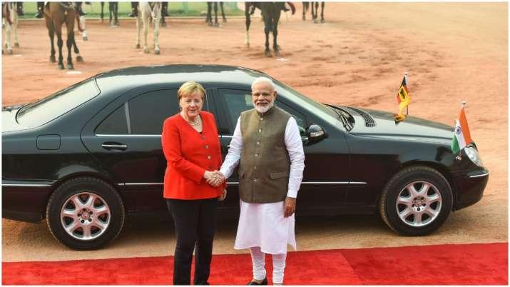 Modi, Merkel hold 5th Indo-German Inter-Governmental