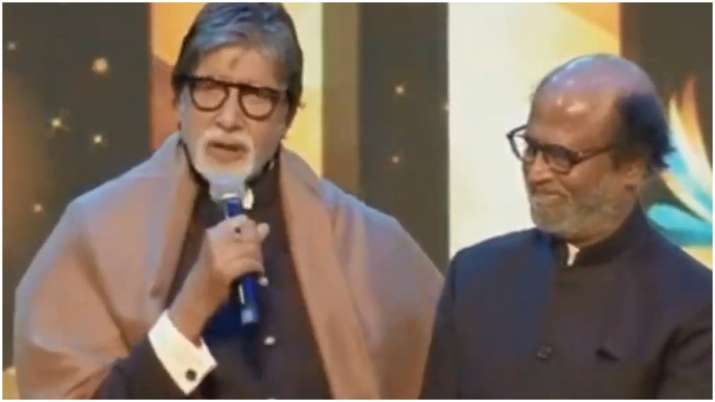 Amitabh Bachchan thanks fans at IFFI opening ceremony: You