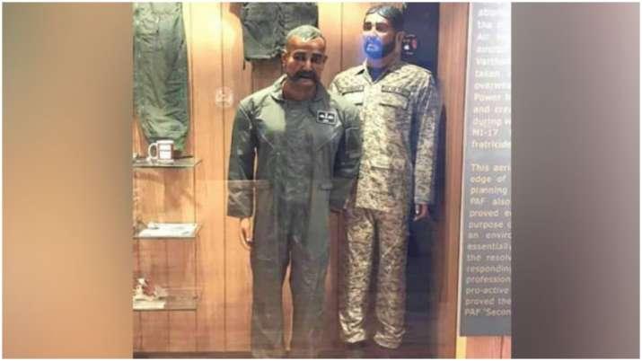 Shameful! PAF puts Wing Commander Abhinandan's mannequin in