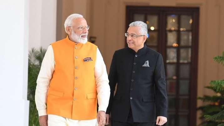 Modi congratulates Mauritius PM Jugnauth on re-election