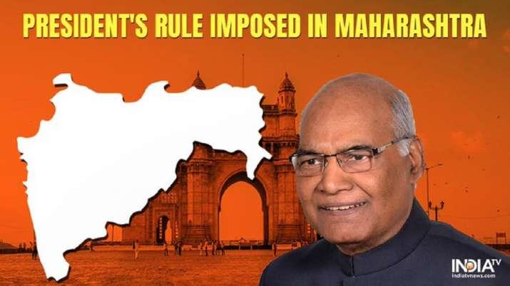 BREAKING: President's Rule imposed in Maharashtra