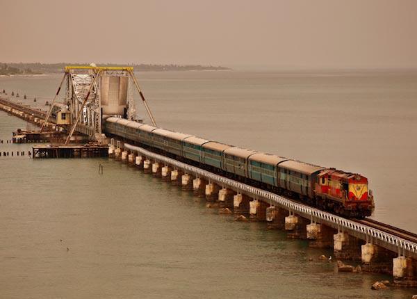 Work begins on new Pamban rail bridge connecting Rameswaram