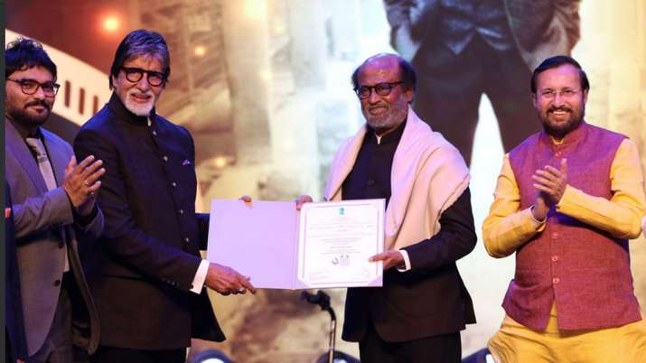 India Tv - Amitabh Bachchan, rajinikanth