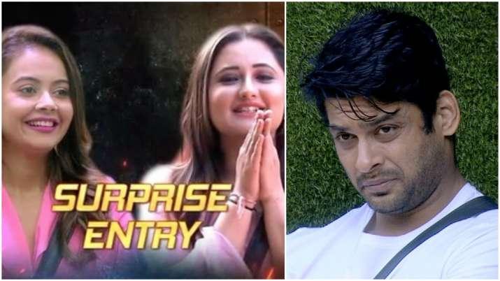 Bigg Boss 13 November 7 LIVE UPDATES: Rashami Desai, Devoleena's entry makes Sidharth Shukla anxious