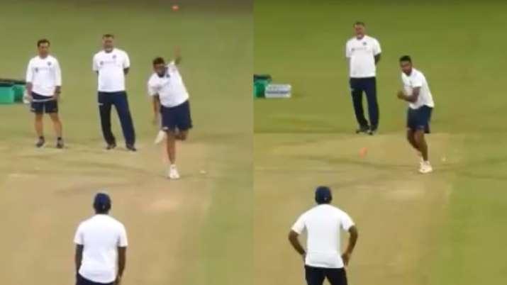 ravichandran ashwin, ravichandran ashwin left hand bowling, ashwin left hand bowling, india vs bangl