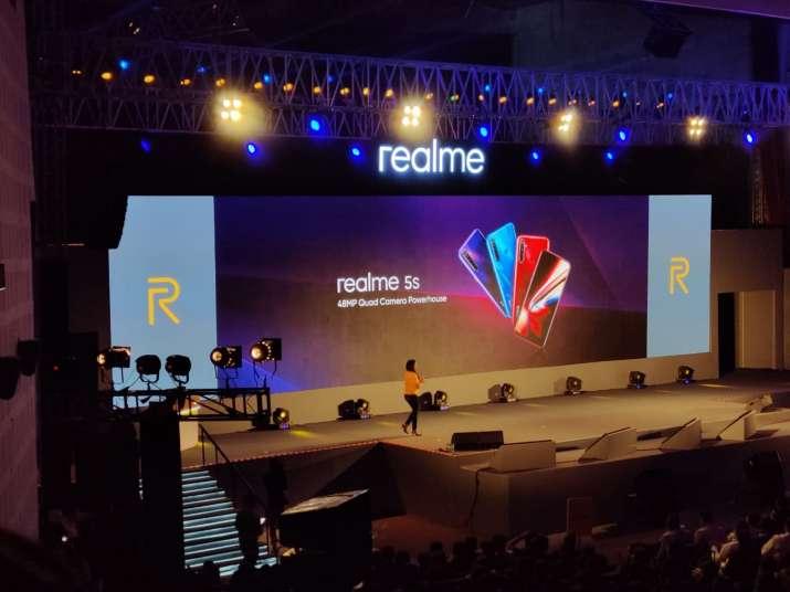 India Tv - Realme 5s