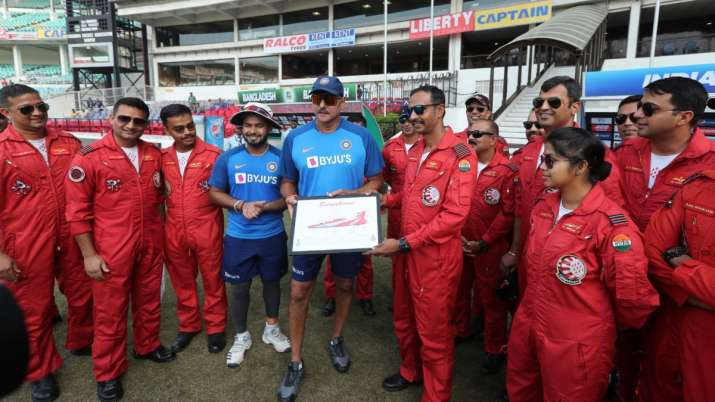 The cricketers of Team India spent time with Air Force