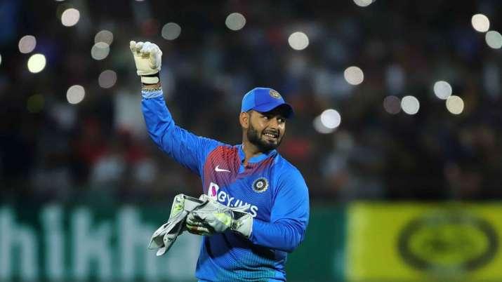 Rishabh Pant Rajkot T20I