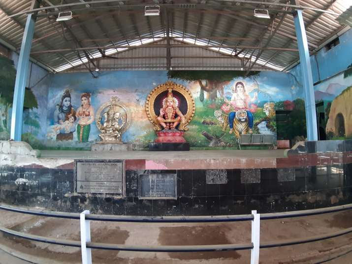 India Tv - Sabarimala set to open today, no protection for women activists. 10 points