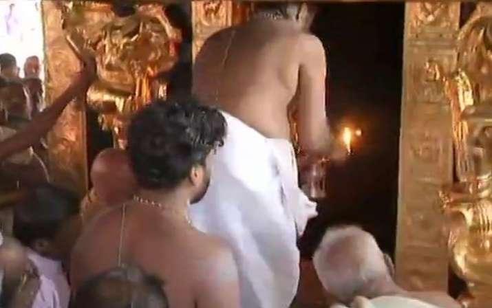 Sabarimala temple opens for 2-month long Mandala-Makaravilakku pilgrimage season
