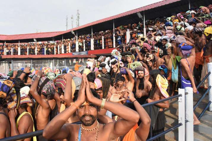 Sabarimala set to open today, no protection for women