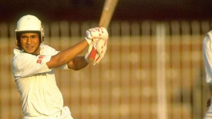 This day, that year: 16-year-old Sachin Tendulkar made his international  debut | Cricket News – India TV