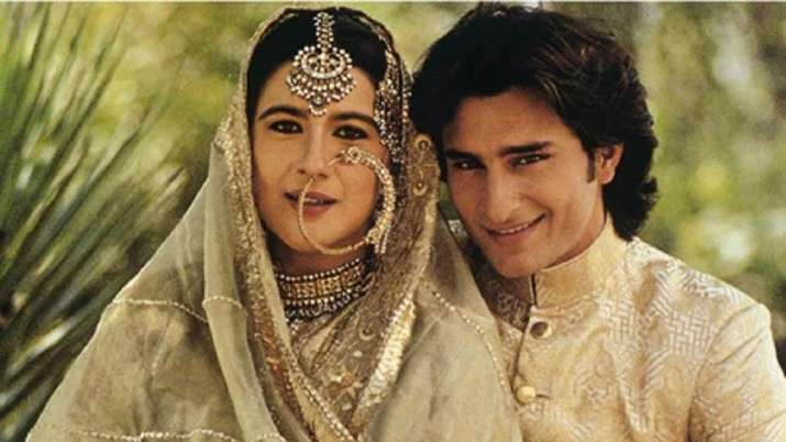 India Tv - Saif Ali Khan and Amrita Singh