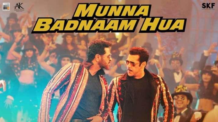 Salman Khan, Prabhu Deva's Munna Badnaam Hua song to premiere tonight