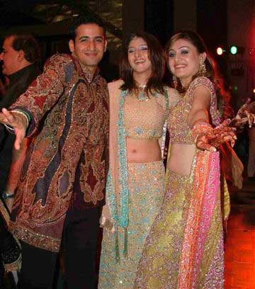 India Tv - Harmeet and Shefali during their wedding.