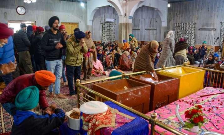 India Tv - Srinagar gurupurab photos Chati Patshahi