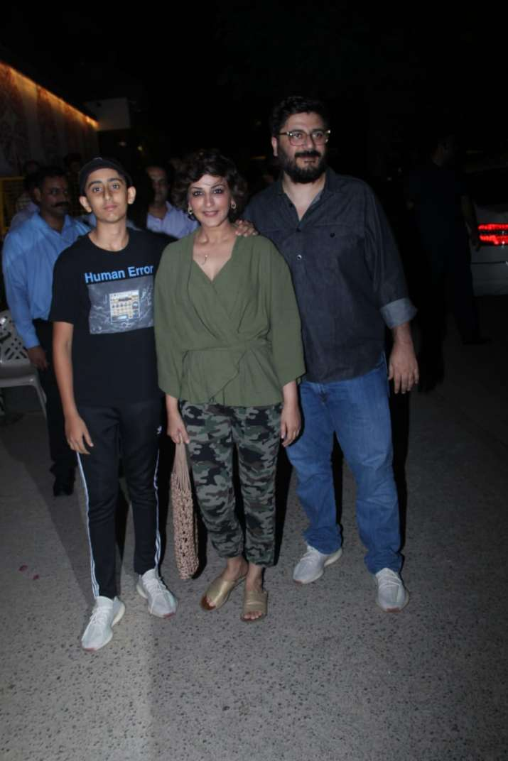 India Tv - sonali bendre and son