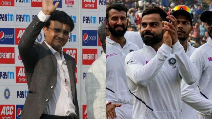 It all started with Dada's team: Virat Kohli pays tribute to Sourav Ganguly  after terrific win over Bangladesh   Cricket News – India TV
