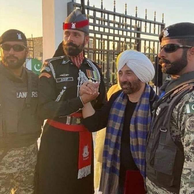 India Tv - Sunny Deol at the inauguration ceremony of Kartarpur corridor in Pakistan