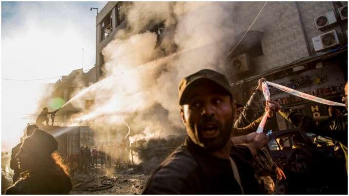 Syria car bomb blast