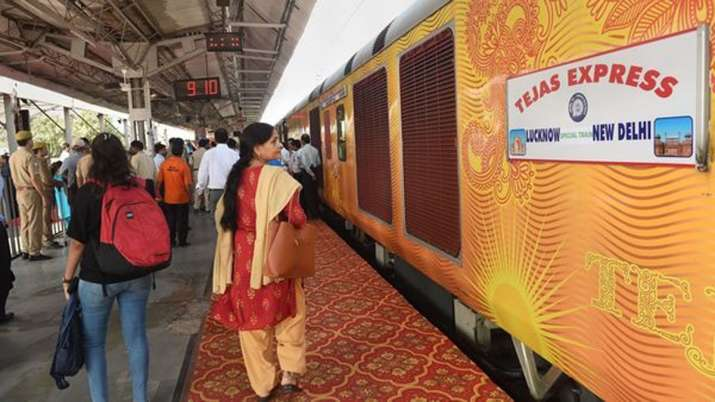 India's first private train Tejas Express posts Rs 70 lakh