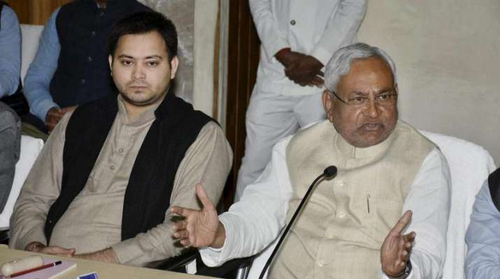 What does Nitish think about Pragya episode, asks Tejashwi