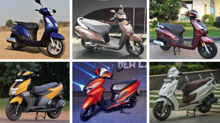 Top 5 gearless scooters in India 2019
