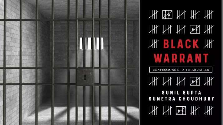 tihar jail new book, Black Warrant