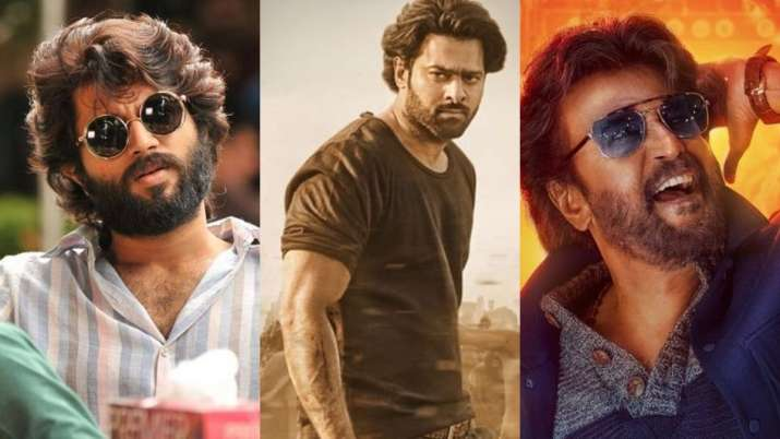 top south indian actors vijay devarakonda rajnikanth