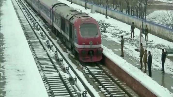 Train services in Kashmir Valley to begin from Tuesday: Railways
