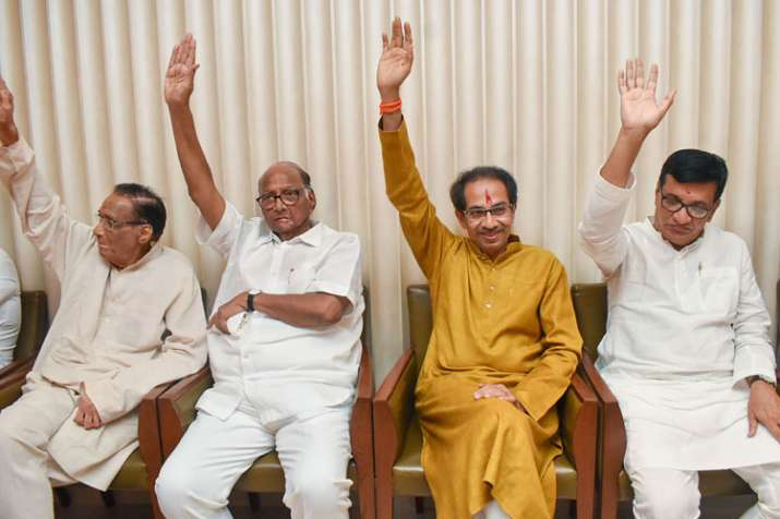 uddhav thackeray swearing-in ceremony live coverage, live streaming uddhav thackeray oath, live cove