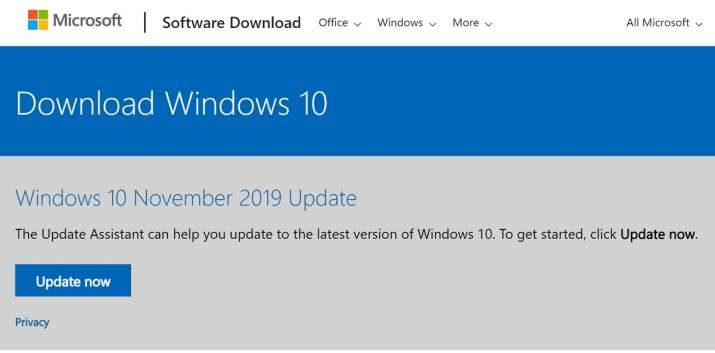 microsoft, windows, windows 10, november update, november 2019 update