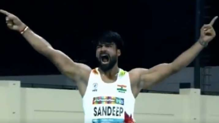sandeep chaudhary, sumit, world para athletics championships, world para ch'ships, f64