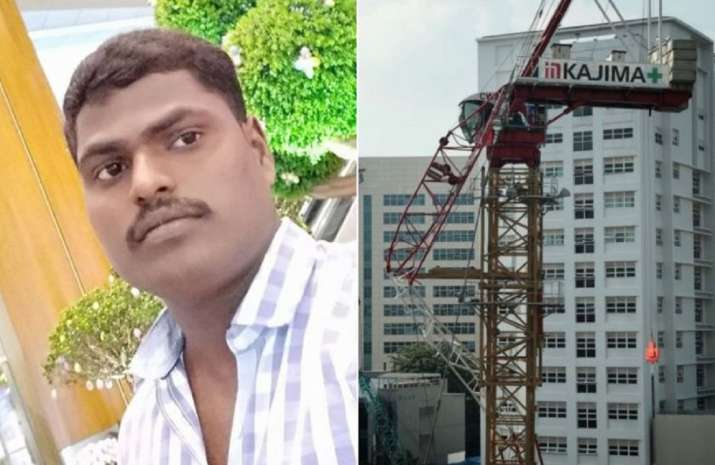 Indian worker killed in Singapore crane collapse