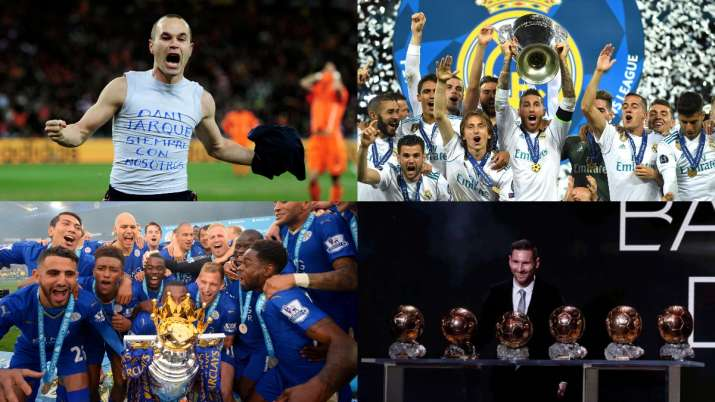 Spain's maiden WC to Leicester's fairytale season: Memorable football moments of the decade
