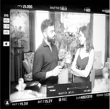 India Tv - Anushka Sharma and Virat Kohli are reuniting onscreen once again and we can't keep calm