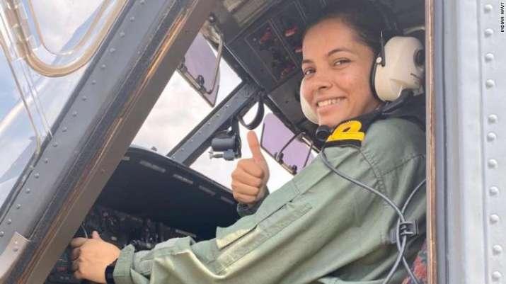 Meet Sub Lieutenant Shivangi, the first naval woman pilot