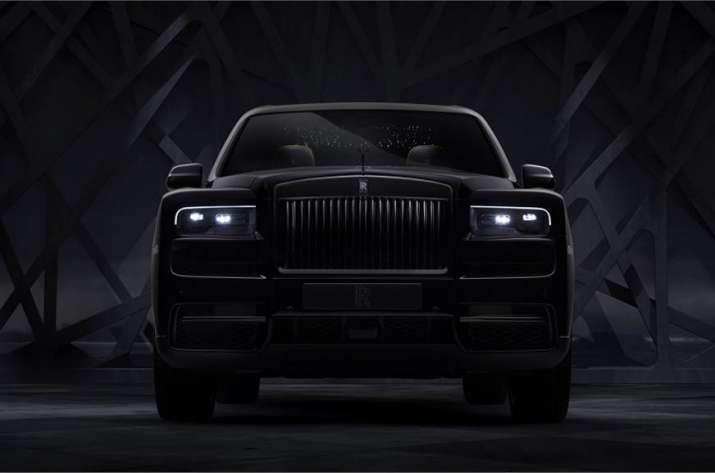 All-black Rolls Royce Cullinan