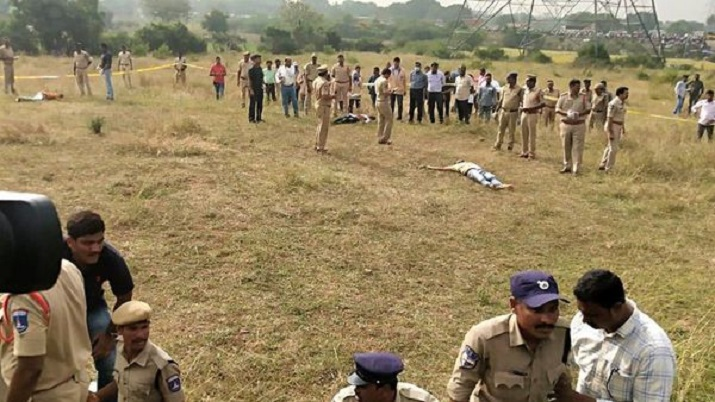Telangana governement form SIT to investigate Hyderabad vet rape accused encounter