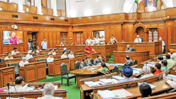 Delhi Assembly: BJP MLAs walkout over 'dirty water' issue