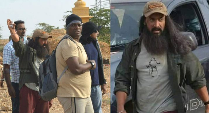 Photos of Aamir Khan's unkempt look from Laal Singh Chaddha leaked ...