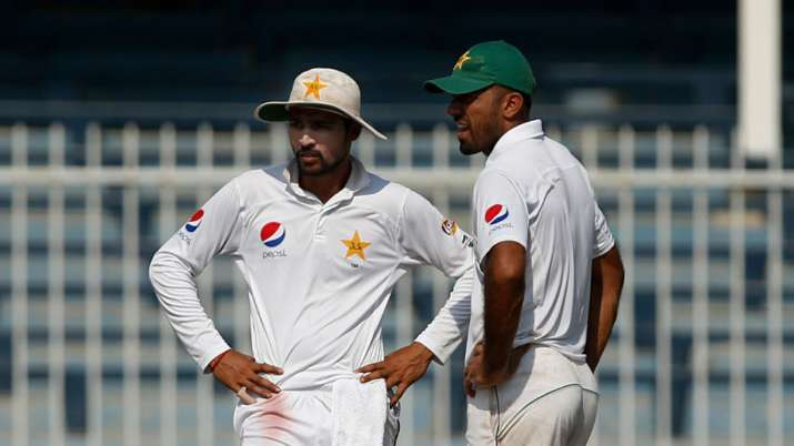 mohammad amir, wahab riaz, misbah-ul-haq, pakistan cricket, pakistan cricket team, pakistan team