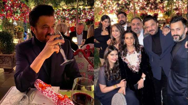 Anil Kapoor's midnight birthday celebration photos with