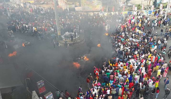 CAB protests continue in Assam