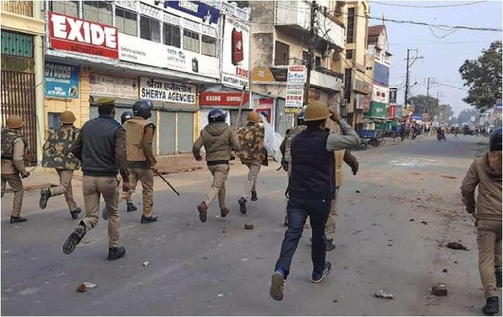 India Tv - Protest in Bahraich