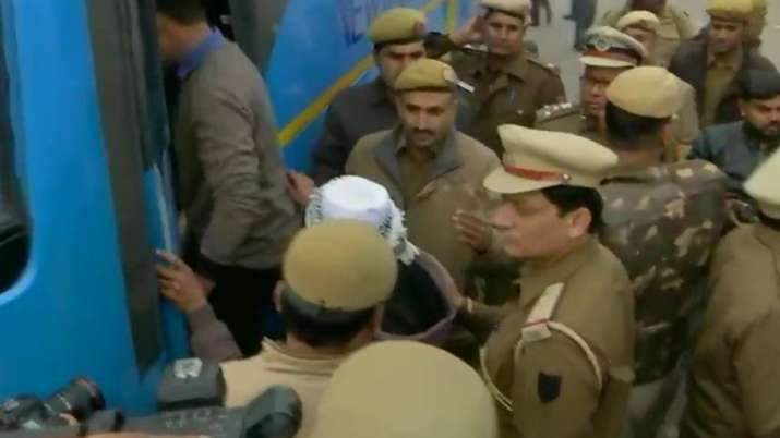 Anti-CAA stir: Protesters detained near Red Fort