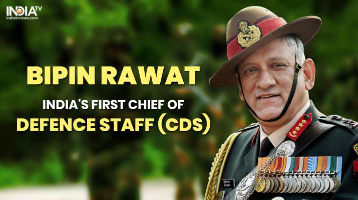 who is Bipin Rawat, bipin rawat profile, bipin rawat first CDS, Chief of Defence Staff, India first