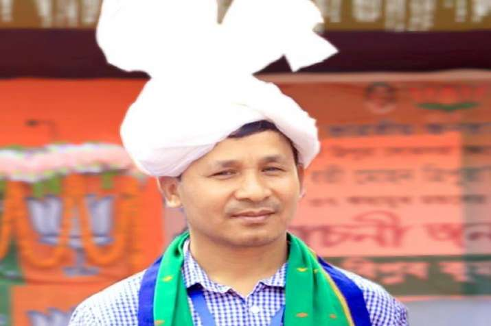 BJPMPfrom Tripura,RebatiKumar