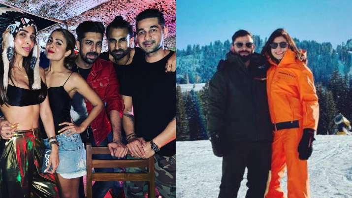 Malaika Arora to Anushka Sharma, New Year vacation pictures of Bollywood celebrities are unmissable